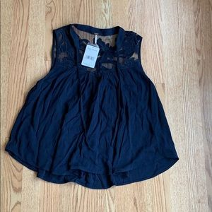 NWT Free People Blouse, Size S TTS